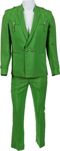 Music Memorabilia:Costumes, George Jones Owned/Worn Nudie Suit (1970s). ... (Total: 2 Items)