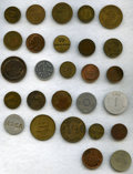 Colombia, Colombia: Tokens 27 pieces mostly of 19th Century,. ... (Total: 27 tokens)