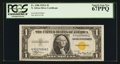 Small Size:World War II Emergency Notes, Fr. 2306 $1 1935A North Africa Silver Certificate. PCGS Superb Gem New 67PPQ.. ...