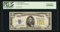 Small Size:World War II Emergency Notes, Fr. 2307 $5 1934A North Africa Silver Certificate. PCGS Superb Gem New 67PPQ.. ...