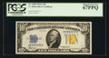 Small Size:World War II Emergency Notes, Fr. 2309 $10 1934A North Africa Silver Certificate. PCGS Superb GemNew 67PPQ.. ...