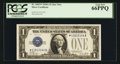 Small Size:Silver Certificates, Fr. 1601* $1 1928A Silver Certificate. PCGS Gem New 66PPQ.. ...