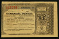 Miscellaneous:Other, Indianapolis, IN- Postal Note Type V 5¢ Dec. 11, 1893. ...