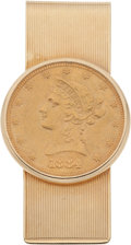 Political:Presidential Relics, Harry S. Truman: $10 Gold Eagle Personal Money Clip....