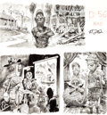"Original Comic Art:Splash Pages, Jack Davis MAD #202 ""Uncle Magazine for Camp Counselors""Page 2 Original Art (EC, 1978)...."