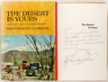 Books:Travels & Voyages, Erle Stanley Gardner. INSCRIBED. The Desert Is Yours. New York: Morrow, 1963. First edition. Warmly inscribed ...