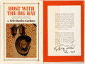 Books:Travels & Voyages, Erle Stanley Gardner. SIGNED. Host with the Big Hat. New York: William Morrow, 1969. First edition first printing. ...