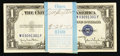 Small Size:Silver Certificates, Fr. 1613W $1 1935D Silver Certificates. Original Pack of 100. Choice Crisp Uncirculated or Better.. ... (Total: 100 notes)