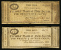 Obsoletes By State:Ohio, New Salem, OH- The Farmers' Bank of New Salem 12-1/2¢; 25¢ 1816-18Wolka 1902-05; -10. ... (Total: 2 notes)