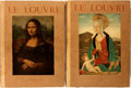 Books:Art & Architecture, Georges Lafenestre. The Louvre: The Museum and the Masterpieces in Paintings. Paris, [n.d., ca. 1943?]. Two folio vo... (Total: 2 Items)