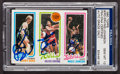 Basketball Collectibles:Others, 1980 Topps Bird/Erving/Johnson PSA/DNA Gem MT 10 - Autographed byAll Three!. 1980 Topps Bird/Erving/Johnson PSA/DNA...