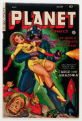 Golden Age (1938-1955):Science Fiction, Planet Comics #70 (Fiction House, 1953) Condition: FN-....