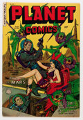 Golden Age (1938-1955):Science Fiction, Planet Comics #69 (Fiction House, 1953) Condition: VF-....
