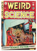 Golden Age (1938-1955):Science Fiction, Weird Science #8 (EC, 1951) Condition: VG....