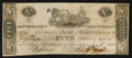 Obsoletes By State:Ohio, Wooster, OH- The German Bank of Wooster Counterfeit $5 July 4, 1815G8 Wolka 2868-18. ...
