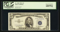 Small Size:Silver Certificates, Fr. 1656 $5 1953A Silver Certificate. PCGS Superb Gem New 68PPQ.. ...