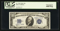 Small Size:Silver Certificates, Fr. 1704 $10 1934C Silver Certificate. PCGS Superb Gem New 68PPQ.. ...