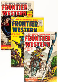 Frontier Western Group (Atlas, 1956-57) Condition: Average FN.... (Total: 7 Comic Books)