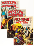 Silver Age (1956-1969):Western, Quick-Trigger Western/Western Gunfighters Group (Atlas, 1950s)Condition: Average FN-.... (Total: 8 Comic Books)