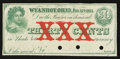 Obsoletes By State:Ohio, Wyandot, OH- Unknown Issuer 30¢ Jan. 12, 1863 Remainder Wolka2882-02. ...