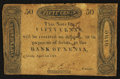 Obsoletes By State:Ohio, Xenia, OH- The Bank of Xenia (The First) 50¢ Apr. 1, 1818 Wolka2887-04. ...