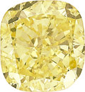 Estate Jewelry:Unmounted Diamonds, Unmounted Fancy Intense Yellow Diamond. ...