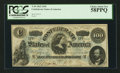 Confederate Notes:1862 Issues, T49 $100 1862 PF-1 Cr. 347.. ...