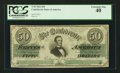 Confederate Notes:1862 Issues, T50 $50 1862 PF-2 Cr. 352.. ...