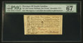 Colonial Notes:North Carolina, North Carolina December, 1771 £1 PMG Superb Gem Uncirculated 67EPQ.. ...