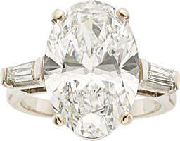 Featured item image of Diamond, White Gold Ring  ...