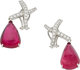Tourmaline, Diamond, Platinum Earrings, Paloma Picasso for Tiffany & Co
