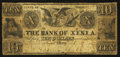 Obsoletes By State:Ohio, Xenia,OH- The Bank of Xenia (The Second) Altered $10 Oct. 10,1837(?) A10 Wolka 2889-13. ...