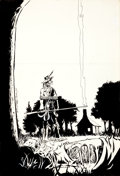 Original Comic Art:Covers, William Messner-Loebs Journey: the Adventures of WolverineMacAlistaire #2 Front and Back Cover Original Art Group...(Total: 2 Items)