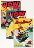 Golden Age (1938-1955):Miscellaneous, Wow Comics Group (Fawcett Publications, 1945-47) Condition: Average VG/FN.... (Total: 6 Comic Books)