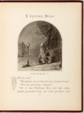 Books:Literature Pre-1900, James T. Brady. A Christmas Dream. Illustrated by EdwardHall. New York: D. Appleton, 1860. First edition. Later bro...
