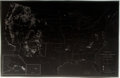 Books:Maps & Atlases, [Maps]. Negative Depicting Map of United States, circa 1962. Measures 8 x 12 inches. Fine. ...