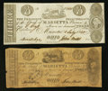 Obsoletes By State:Ohio, Marietta, OH- The Bank of Marietta Counterfeit $3 (2) 1836-40 C34;UNL Wolka 1559-23; UNL. ... (Total: 2 notes)