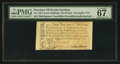 Colonial Notes:North Carolina, North Carolina December, 1771 £1 PMG Superb Gem Unc 67 EPQ.. ...