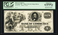 Obsoletes By State:Ohio, Cleveland, OH- The Bank of Commerce $10 G16 Wolka 0700-16 Proof....