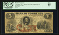 Obsoletes By State:Ohio, Cleveland, OH- The Bank of Commerce $5 Oct. 1, 1861 G12b Wolka 0700-12. ...