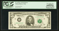 Error Notes:Major Errors, Fr. 1973-L $5 1974 Federal Reserve Note. PCGS Very Choice New64PPQ.. ...