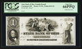 Obsoletes By State:Ohio, Cincinnati, OH- The State Bank of Ohio, Franklin Branch $1 Wolka0631-04 Proof. ...