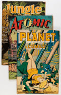 Golden Age (1938-1955):Miscellaneous, Comic Books - Assorted Golden Age Comics Group (Various Publishers, 1940s) Condition: Average FR/GD.... (Total: 16 Comic Books)