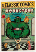 Golden Age (1938-1955):Classics Illustrated, Classic Comics #30 The Moonstone - First Edition (Gilberton, 1946) Condition: VF....