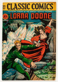 Golden Age (1938-1955):Classics Illustrated, Classic Comics #32 Lorna Doone - First Edition (Gilberton, 1946)Condition: FN/VF....