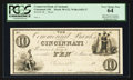 Obsoletes By State:Ohio, Cincinnati, OH- The Commercial Bank of Cincinnati $10 G12 Wolka0425-27 Proof. ...