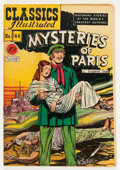 Golden Age (1938-1955):Classics Illustrated, Classics Illustrated #44 Mysteries of Paris - First Edition(Gilberton, 1947) Condition: VF-....