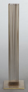 Post-War & Contemporary:Sculpture, HARRY BERTOIA (American, 1915-1978). Sonambient sculpture,circa 1970. Beryllium copper and brass. 32 high with a base m...