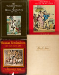 Books:Art & Architecture, [Thomas Rowlandson]. Group of Four Books about the Illustrations of Thomas Rowlandson. Various publishers and dates. Large q... (Total: 4 Items)