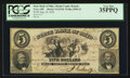 Obsoletes By State:Ohio, Troy, OH- The State Bank of Ohio, Miami County Branch $5 Aug. 26,1856 Haxby 5-G1510 Wolka 2590-23. ...